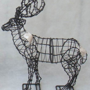 Deer topiary frame