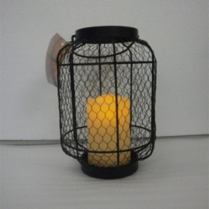 Steel lantern for outdoor